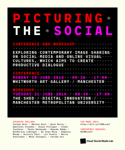 Picturing the Social: 2016 Conference + Workshop